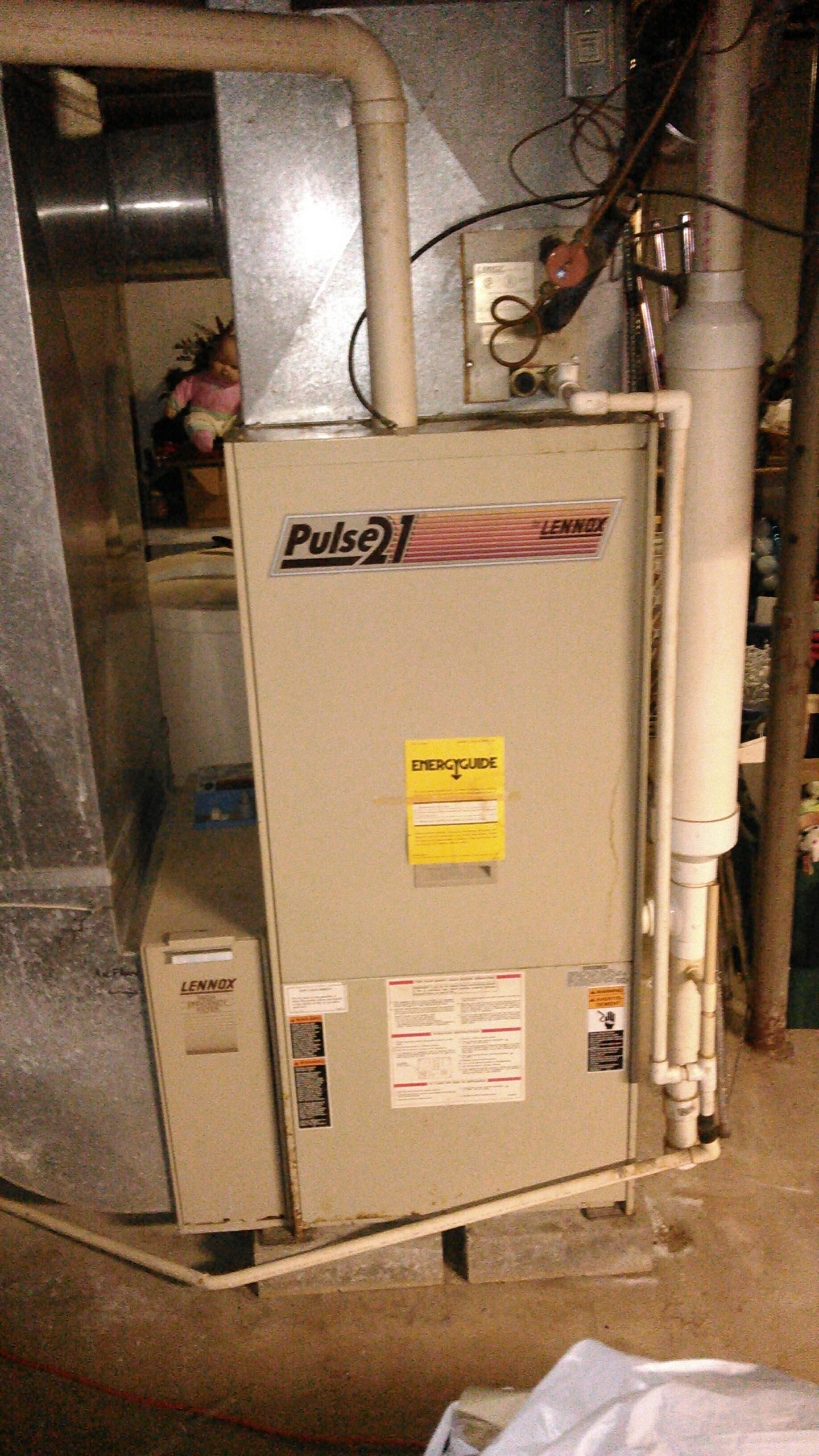 Waynesville, IL - TUNE UP ON LENNOX PULSE FURNACE AND REPLACED FAN TIMER