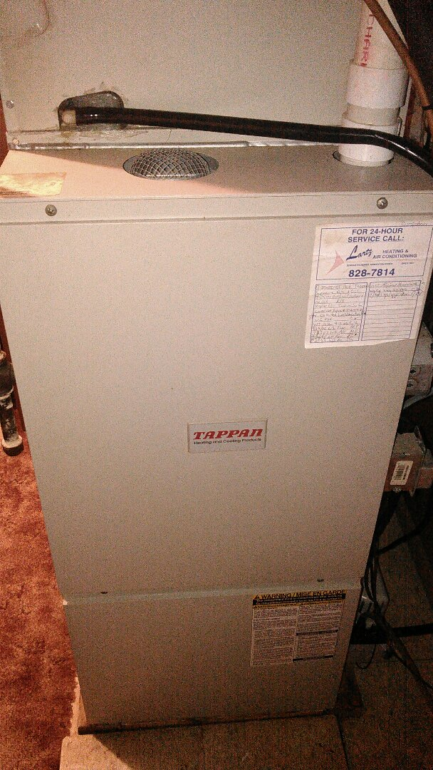 Bloomington, IL - Tappan furnace MAINTENANCE