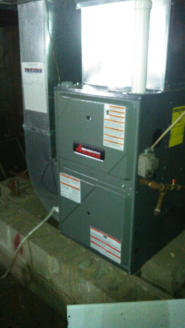 Stanford, IL - Amana l.p. furnace maintenance