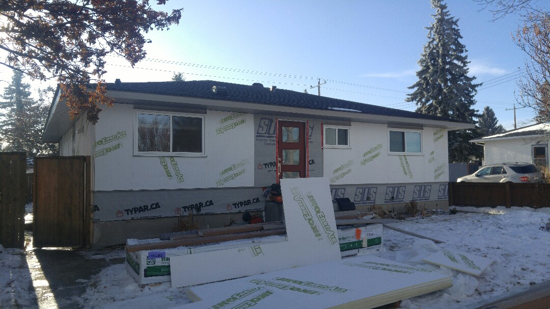 Calgary, AB - Imagine.... James Hardie siding James Hardie NT3 window trim James Hardie NT3 corners Stay tuned, pics to follow
