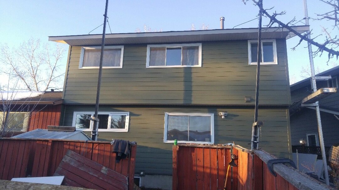 Calgary, AB - Calgary SW James Hardie lap siding Mountain Sage James Hardie NT3 smooth corners More pics to follow