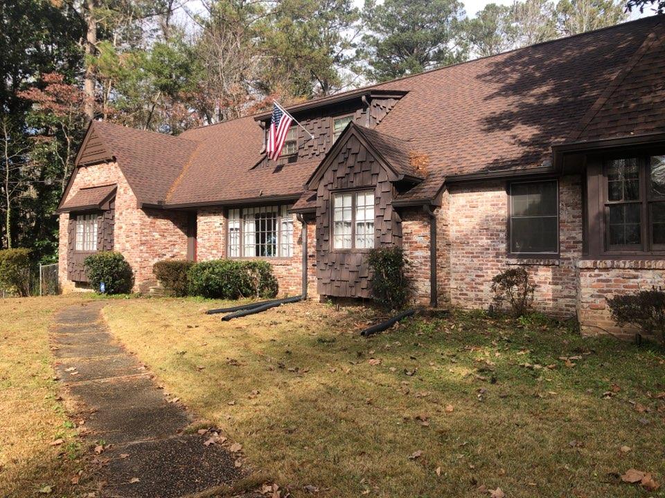 Atlanta, GA - Installing outdoor lighting at customers property