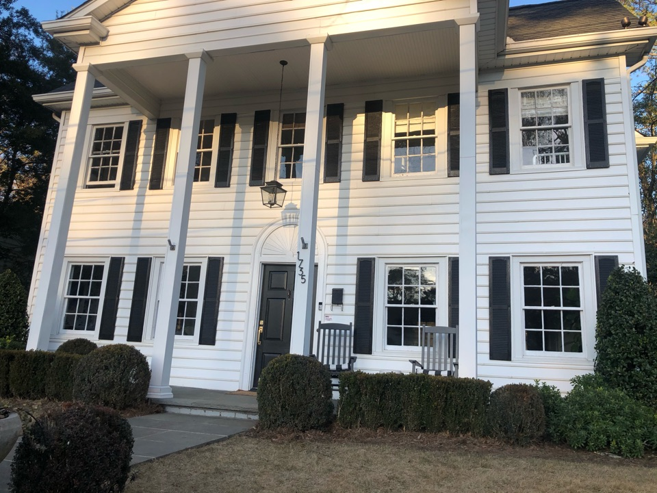 Atlanta, GA - Illuminating customers front property with Outdoor Lighting.