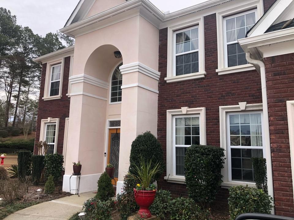 Atlanta, GA - Illuminating customers property with outdoor, Landscape Lighting