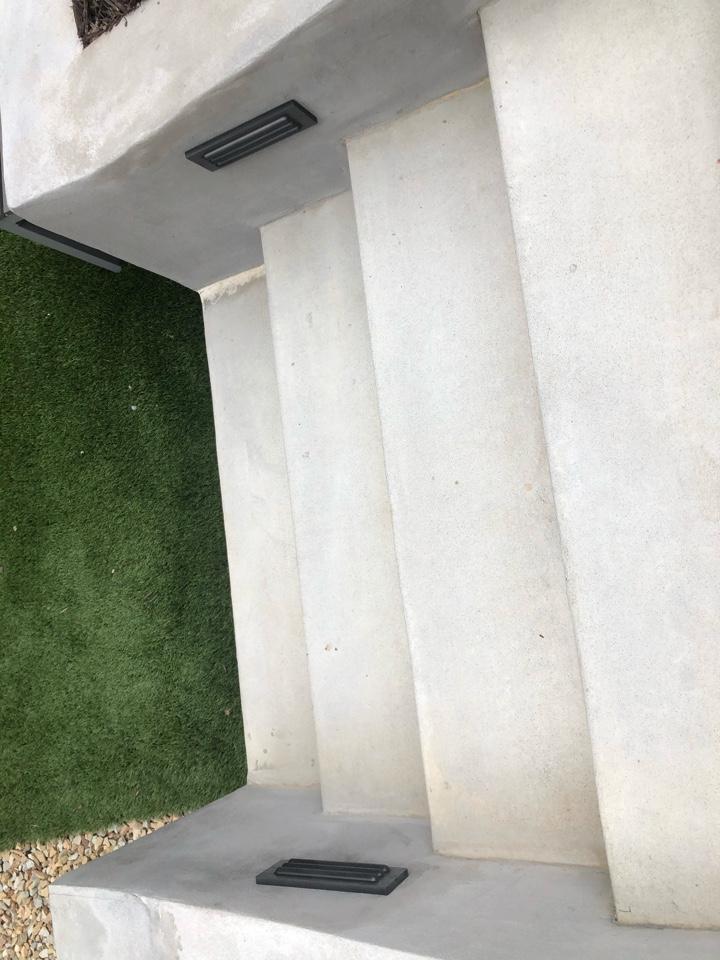 Atlanta, GA - Installing step lights