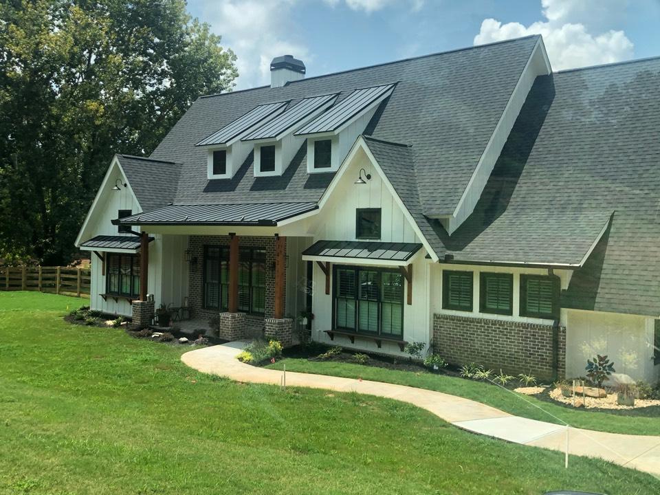 Alpharetta, GA - Installer Outdoor Lighting for a customer home