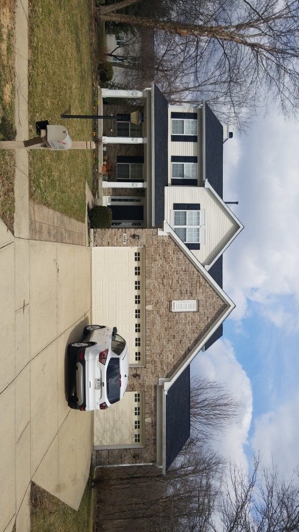 Carmel, IN - Replace damaged roof and rotting trim with James Hardie and Owen's Corning.