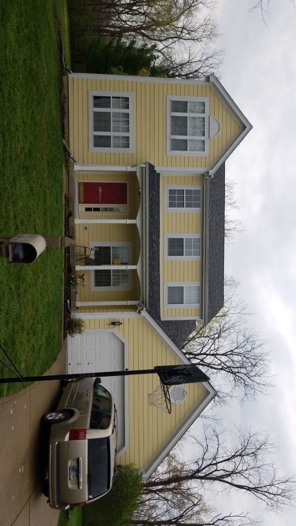 Indianapolis, IN - Replace old and rotted siding with new James Hardie Siding