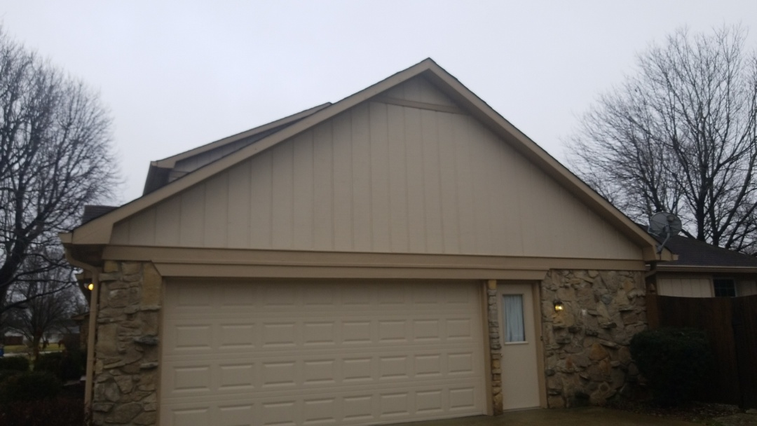 Carmel, IN - Replaced rotting T1-11 and Z Flashing to water proof.