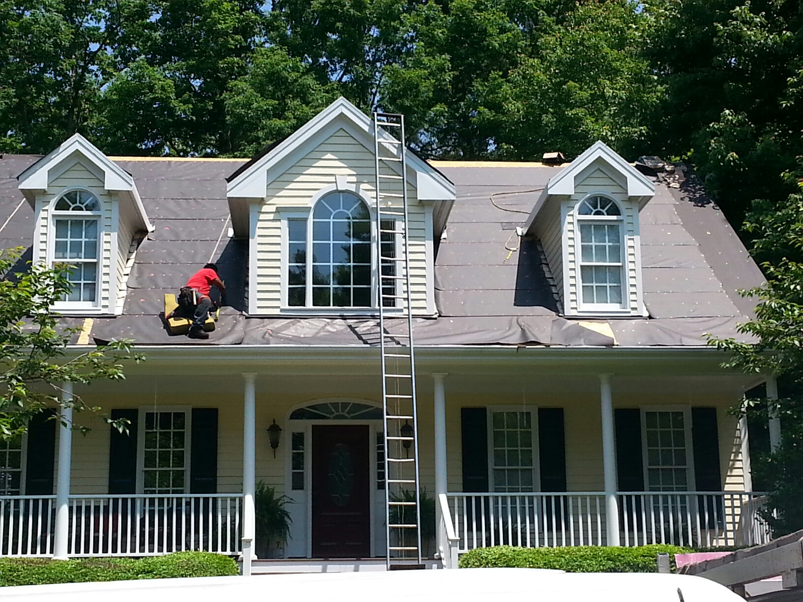 Cary, NC - Another roof by Spilman inc of Raleigh, NC.....but in Cary!