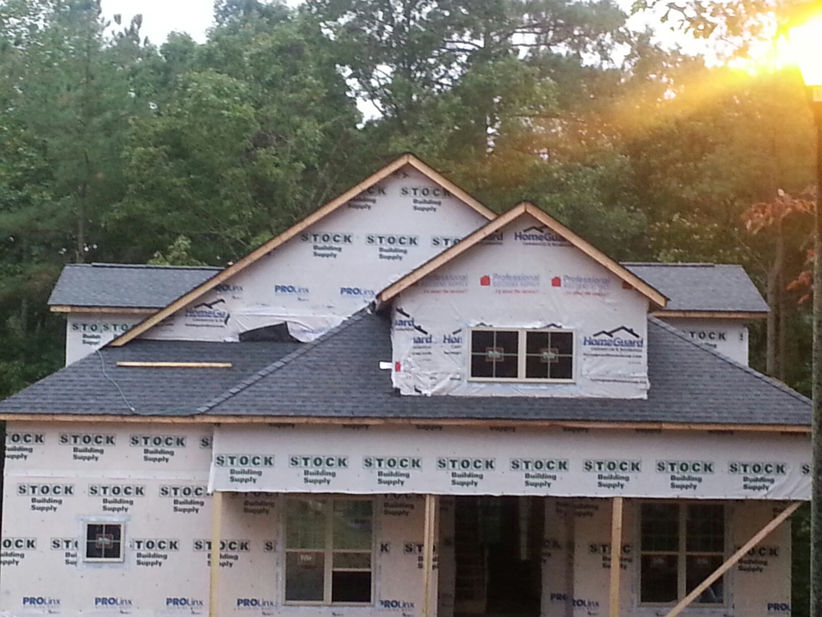 Zebulon, NC - Another New roof by Spilman,inc. Fabulous roofing crew!!! We can install a new roof for you too! Just email or call....chris@spilmaninc.com 919.510.0280. We do it right, the first time, for Less.