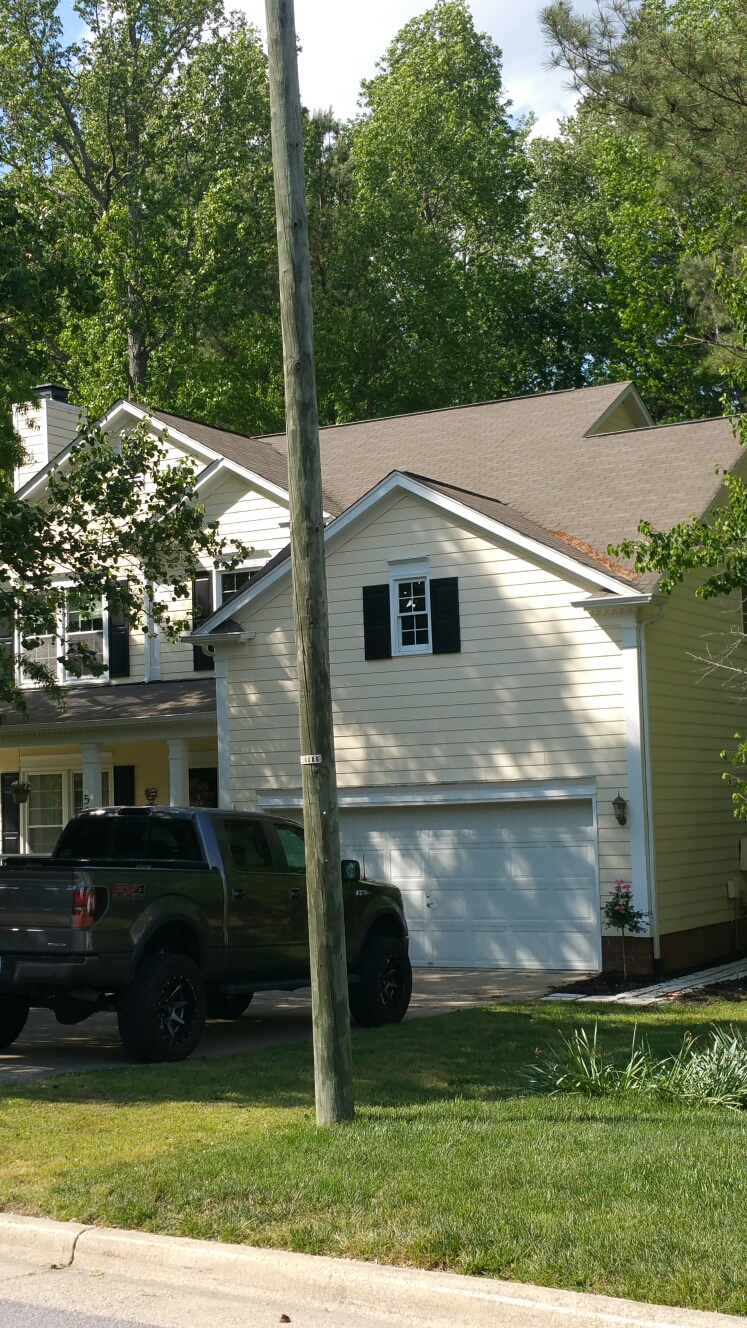 Estimating a roof replacement in Cary, NC. Spilman,inc. Offers Free Estimates in NC