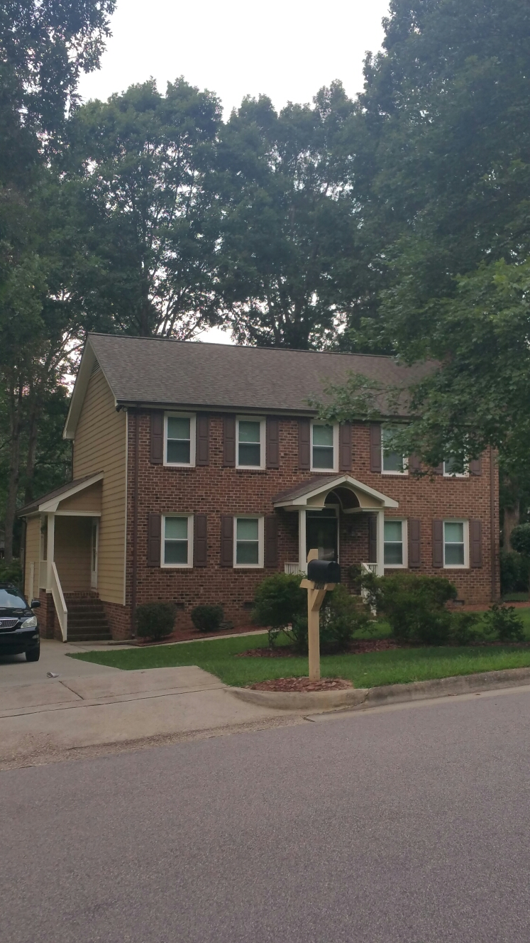 N Raleigh subdivision we've done several roofs in, Hampton Oaks.....Spilman,inc. Can do it for you Too!! Always FREE Estimates...Fully Insured & NCGC License #57163...