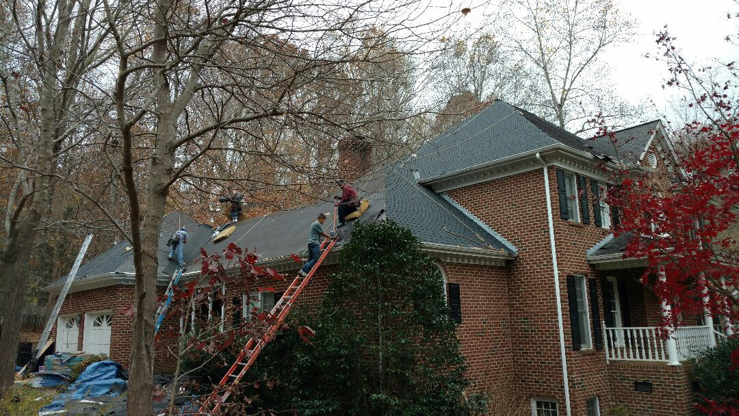 """Roof Replacement in Cary, NC...""""upscale neighborhood"""", prestigious, one might say to describe it; as Spilman, Inc installs our 5th Lifetime Warranty Roof. News of our Incredibly affordable Lifetime Warranty Roof systems is spreading Fast!! Cal or click Today; (919)510-0280...www.spilmaninc.com Please see our photos or read our Google reviews."""
