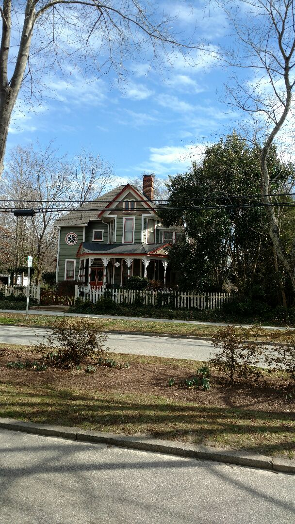 Wake Forest, NC - Roof is DONE! Now we r Installing New Seamless Gutters! Once a customer experiences are workmanship and value, they typically hire Spilman,Inc. for other services! Call or click today....(919)510-0280 WWW.SPILMANINC.COM