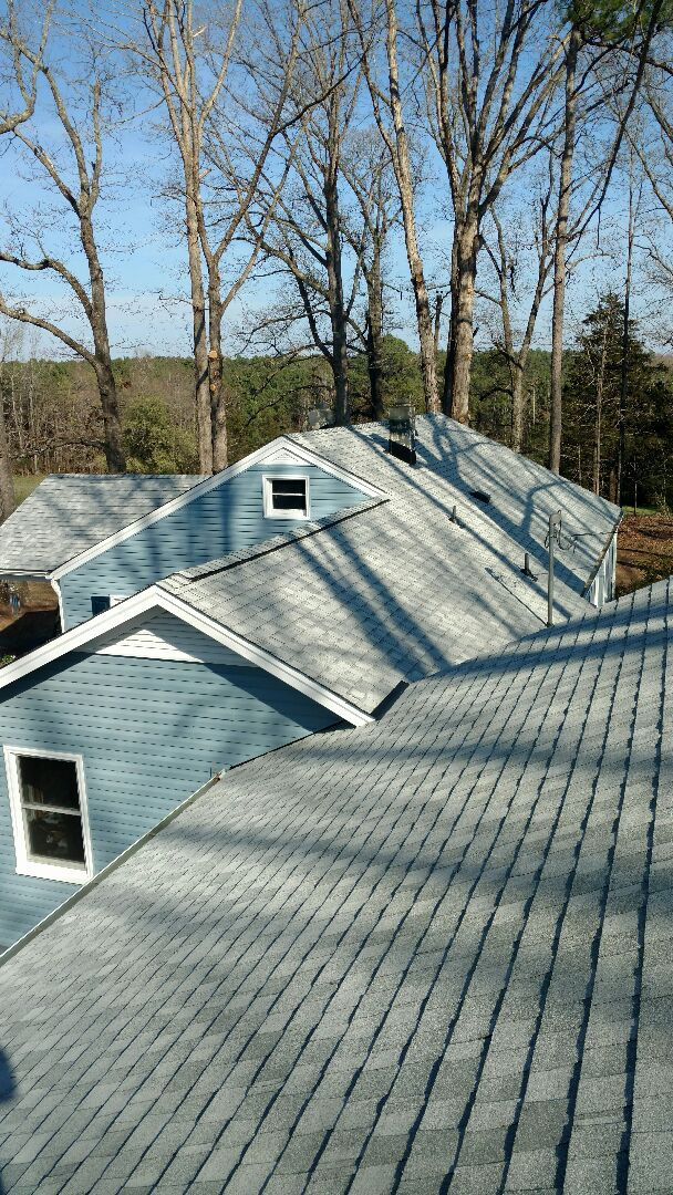 Franklinton, NC - New Roof, siding, and seamless gutters in Franklinton, NC by Spilman,Inc....