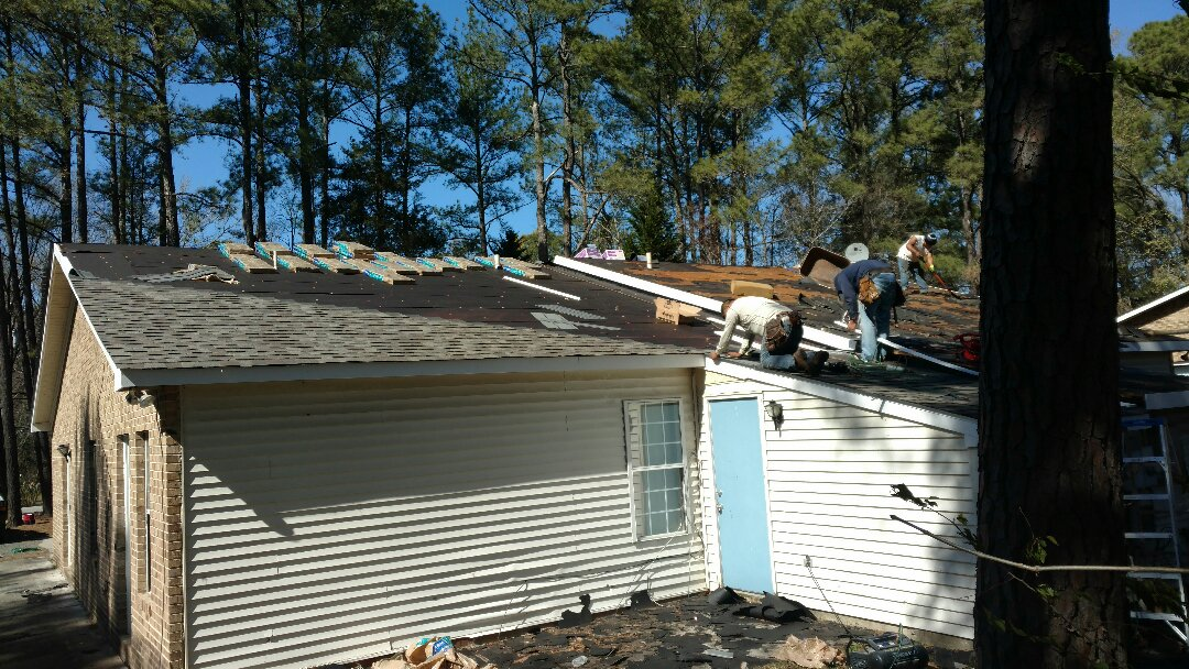 Butner, NC - Roof replacement with new PVC Fascia boards, and new Seamless Gutters in Butner, NC... Spilman,Inc. can do it ALL! PLEASE, Do yourself a Big ,BIG Favor, And call or click TODAY...(919)510-0280 www.spilmaninc.com