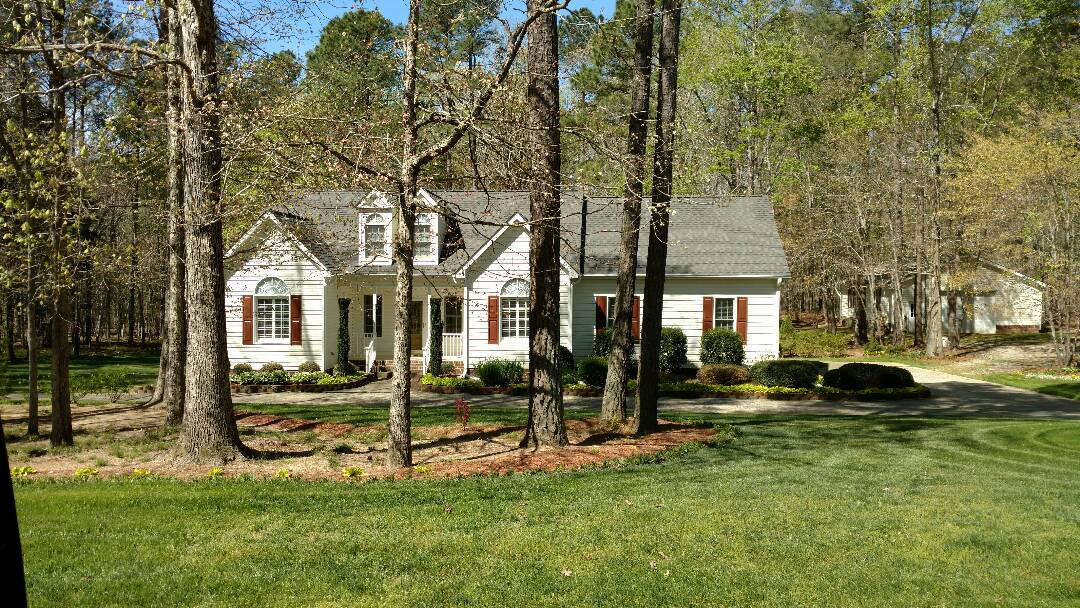 Louisburg, NC - Another Fantastic Lifetime Warranty Roof in Timberlands subdivision, Louisburg, NC.