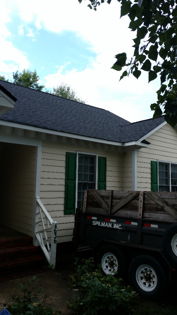 Spilman, inc. completes another Lifetime Warranty Roof!!! We replace roofs in North Raleigh, Wake Forest, Durham, Cary, Knightdale, Garner, & all areas of entrap NC! 15 year Labor is longer than most competitors, And Price is Always Lower!! We Guarantee but!!! Show us competitors quote, and we will Match ORbeat it, no questions asked....call or click TODAY....(919)510-0280 www.spilmaninc.com