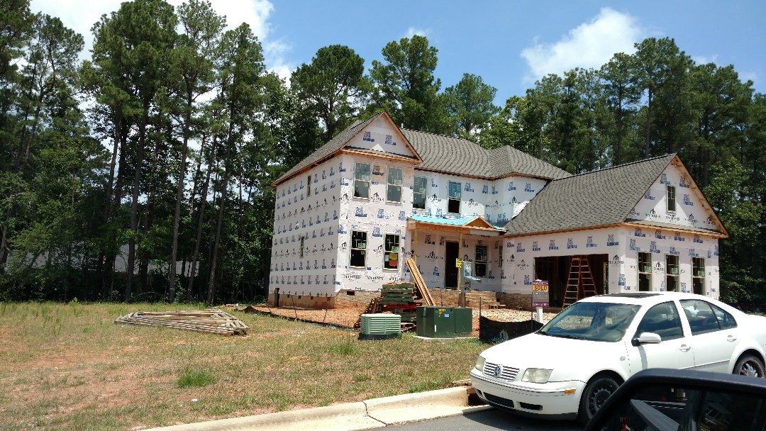 Raleigh, NC - Hardiplank installation by Spilman, inc.....All types of exterior renovations....Roofing, Siding, Painting, Seamless Gutters & guards, decks & screened porches, and more....call or click Today. (919)510-0280 we.spilmaninc.com