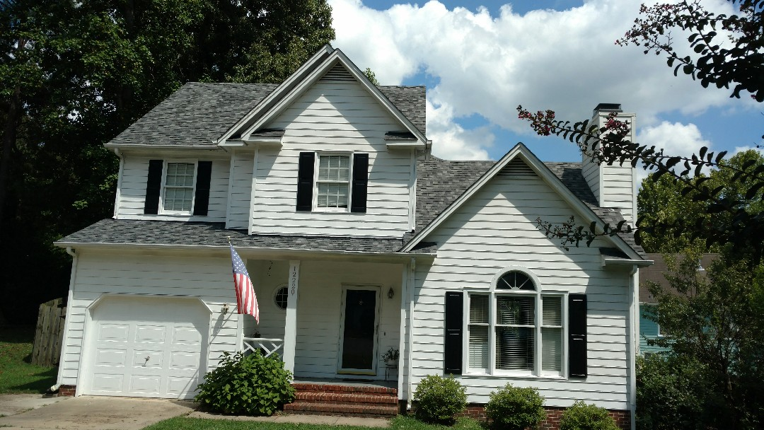 Another Gorgeous roof by Spilman, inc. and crew.... Roof replacement in NC, call or click Today for FREE Estimate, Always....www.spilmaninc.com (919)510-0280