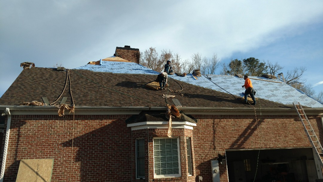 Proper installation of Lifetime Warranty Architectural shingle roof.....By Spilman,inc. Roofing PROS...
