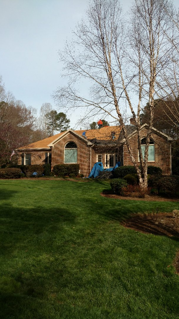 A great job in r favorite subdivision in N.Raleigh...Stonebridge! Spilman,inc. has been installing Lifetime Warranty Architectural shingle roofs in here for 20years now, with too many satisfied Customers to list...call or click TODAY.... (919)510-0280 www.spilmaninc.com