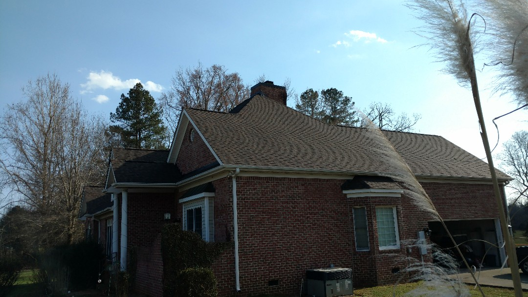 Roof in Stem, NC.... customer asked questions about flashing details, so we returned to explain...Top  Quality customer service. Call or click Today, for your FREE Estimate... (919)510-0280 www.spilmaninc.com