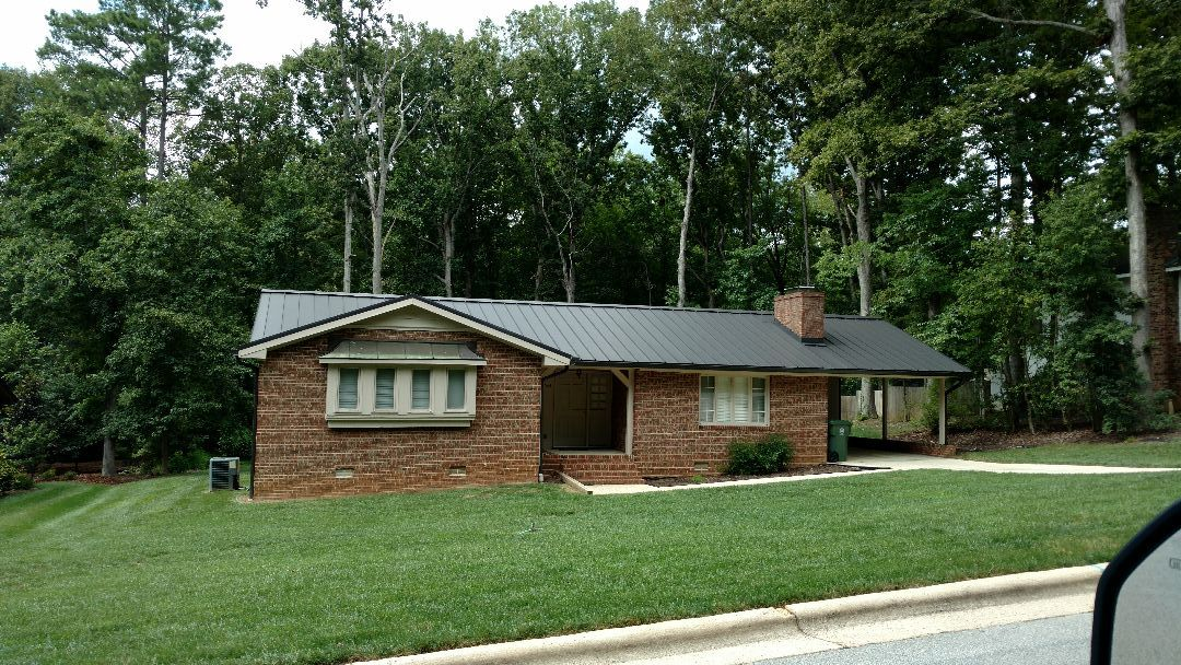 Cary, NC - SPILMAN,inc. can even put a Metal roof on your home, if you desire!