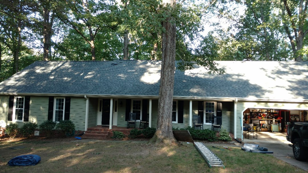 Raleigh, NC - It's FANTASTIC,, Another quality job by Spilman,inc. Roofing PROS!!! Stonebridge subdivision in Raleigh, NC is our precious neighborhood, and we have plenty of gratitude for all those who have trusted in our service.. Call or click today (919)510-0280 www.spilmaninc.com