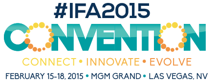 Las Vegas, NV - Excited about the beginning of the International Franchise Convention 2015!
