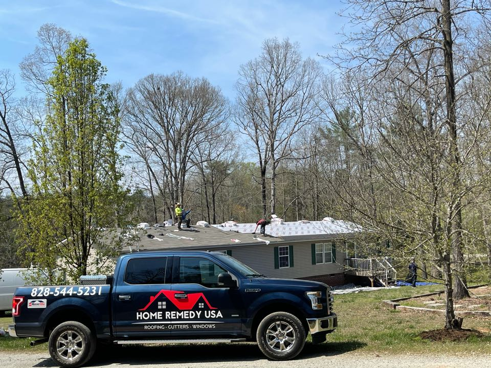 Township of Taylorsville, NC - Another GAF roof Going Up in Taylorsville, NC