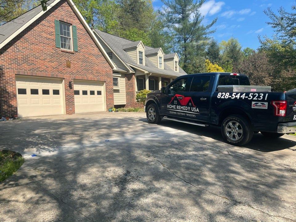 Morganton, NC - Measuring for a New Standing Seam Roof in Morganton , NC