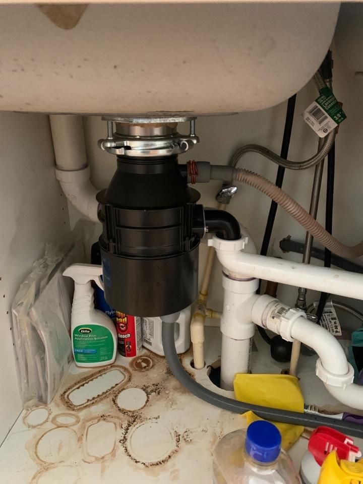 Atlanta, GA - Replace garbage disposal