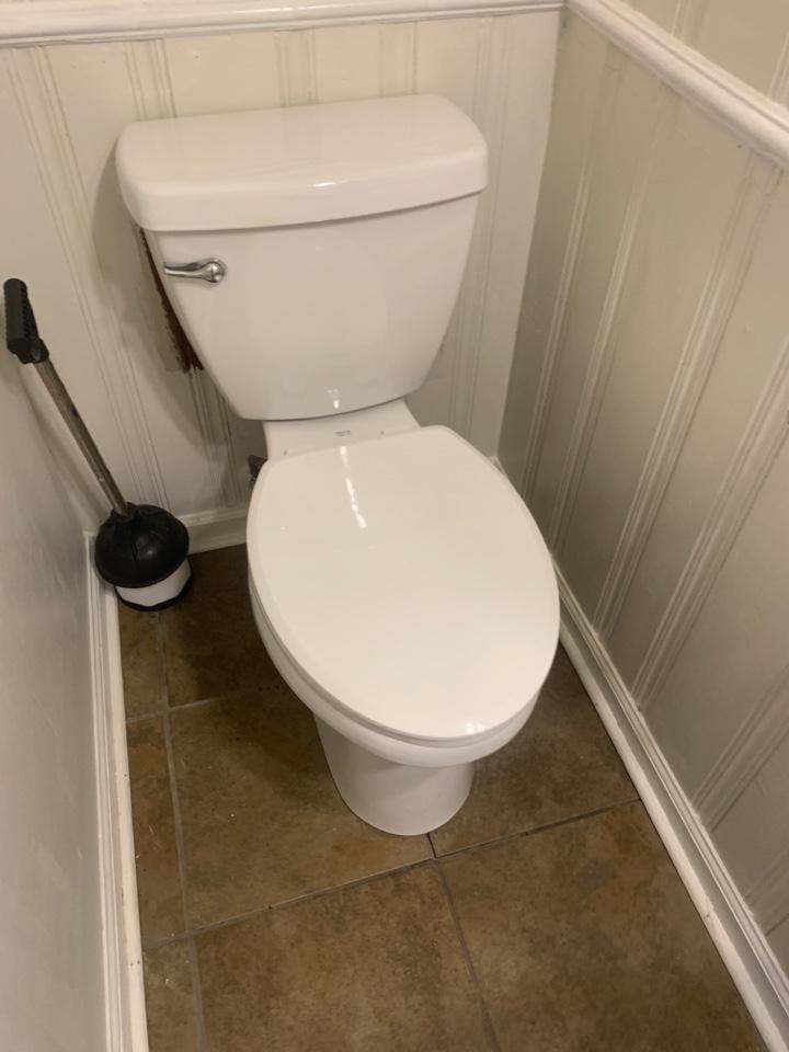 Atlanta, GA - Reset toilet