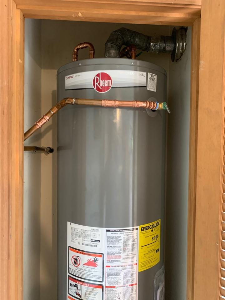 Alpharetta, GA - Replace Water Heater