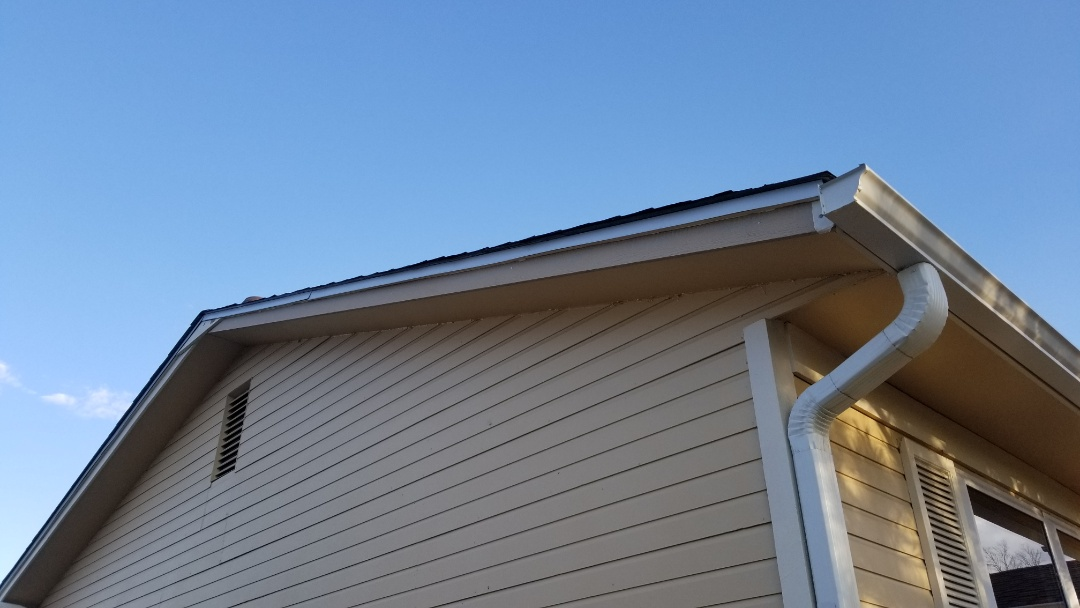 Aurora, CO - We replaced a fascia board and some asphalt shingles that had been damaged when a tree fell onto the house after a recent wind storm. The insurance authorized this roof repair and we are happy to be able to take care of this home owner and work with her insurance company.
