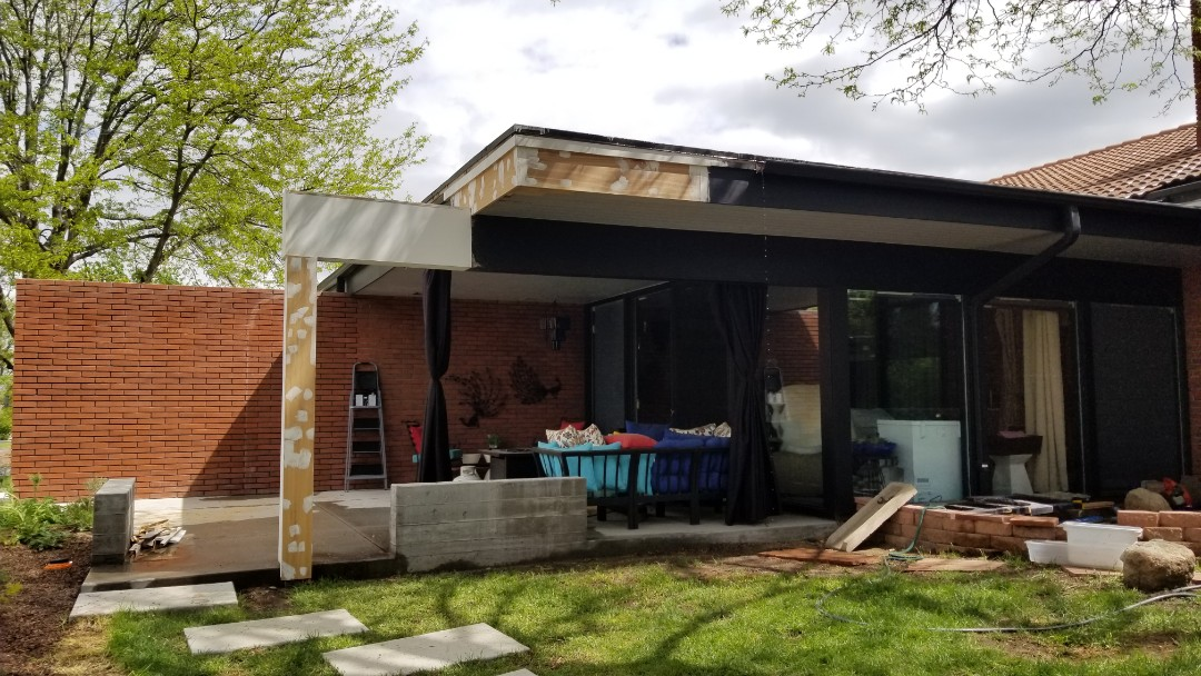 Denver, CO - We are doing a gutter inspection for a house that is having some construction done and the gutters and downspouts need to be removed. We will plan on a gutter replacement after the construction is complete.
