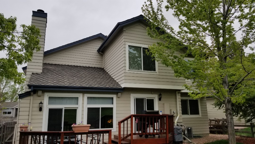 Parker, CO - We are doing a roof inspection for hail damage to this roof before the sale of the property in June.