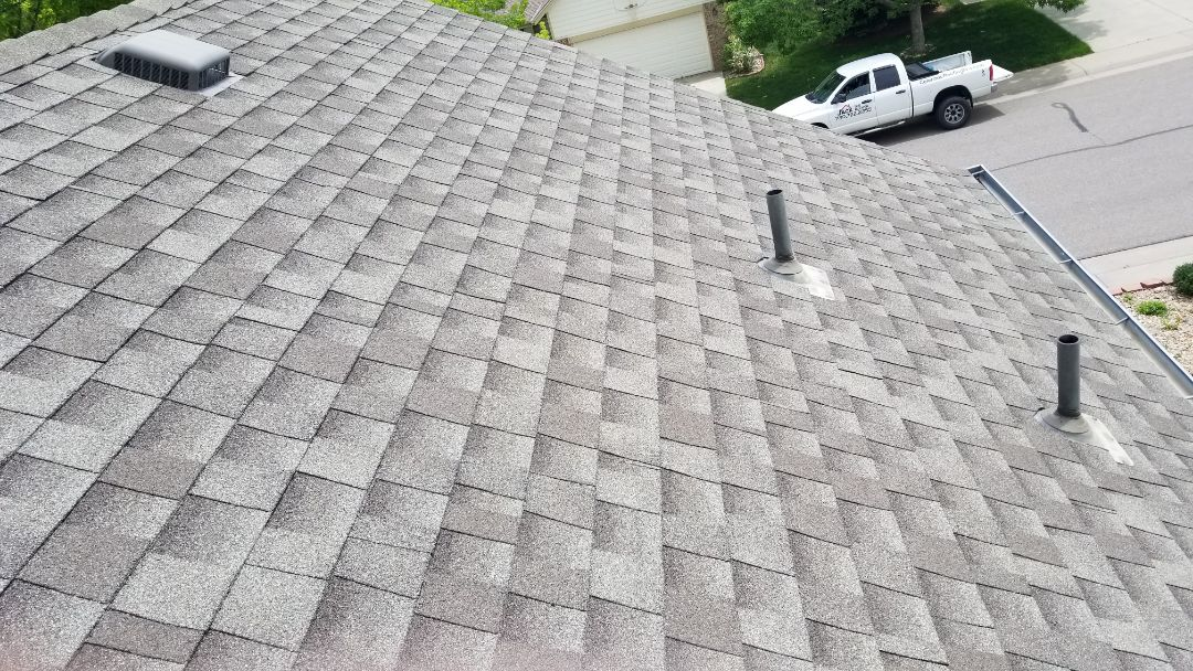Parker, CO - We are diagnosing a leak in the attic associated with some roof flashing