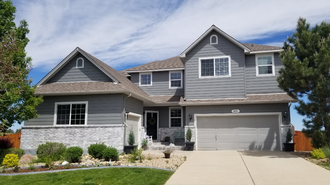 Castle Rock, CO - We are inspecting this roof for hail damage from the recent hail storm