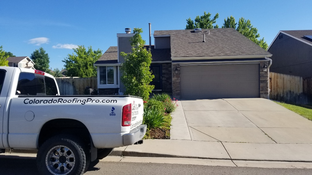 Littleton, CO - We are doing a roof inspection and quoting a roof vent installation