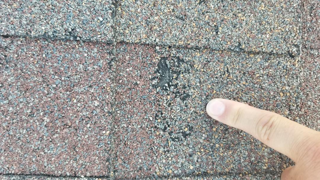 Parker, CO - We are finding a lot of hail damage to roofs that will require full roof replacement in Parker around Hilltop area. Gutters are damaged by hail as well as window screens and some damage to window frames