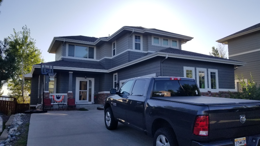 Castle Rock, CO - We are doing a roof inspection for a customer who is moving and keeping the house and doesn't want any issues while he is away.