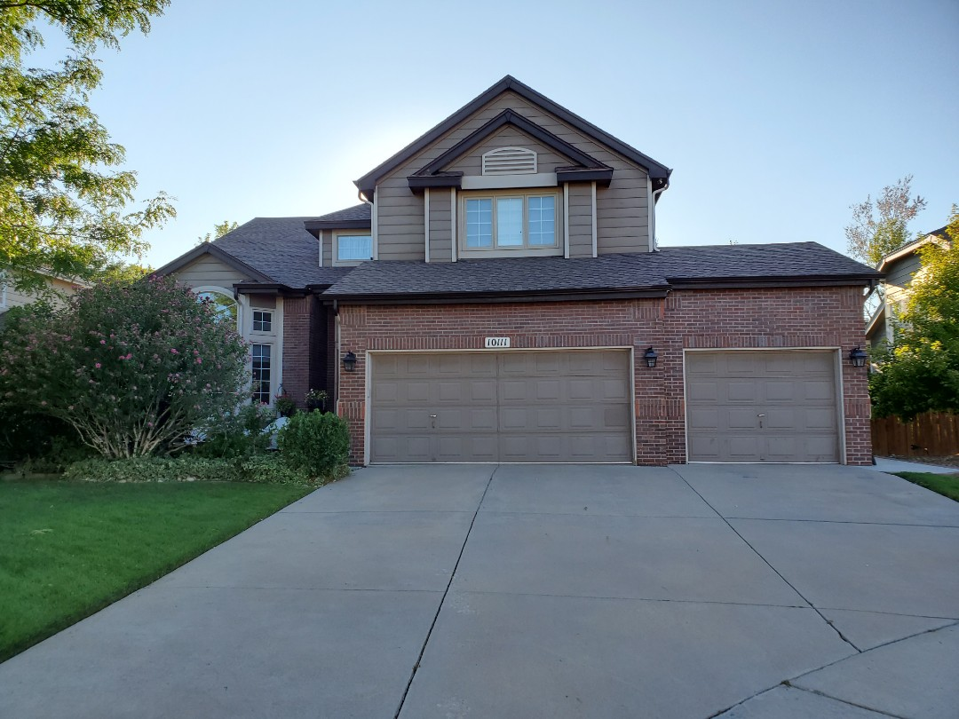 Littleton, CO - We are inspecting a roof in Highlands Ranch for hail damage and found enough for full roof replacement.