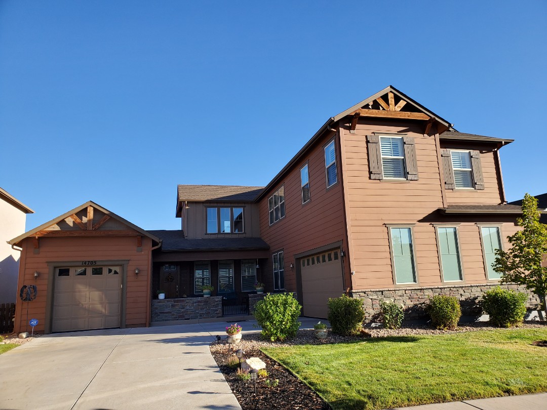 Parker, CO - We are doing a roof inspection for a house in Parker that had some loose shingles