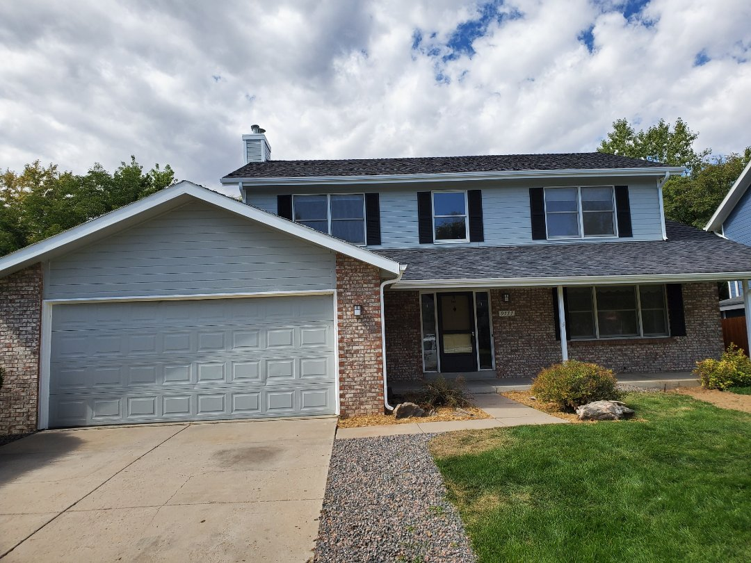 Westminster, CO - We are doing a roof inspection for hail damage here in Westminster and because this roof is old and because the home was recently purchased. We are recommending full roof replacement with an option for a roof repair to extend the life until full replacement is possible.
