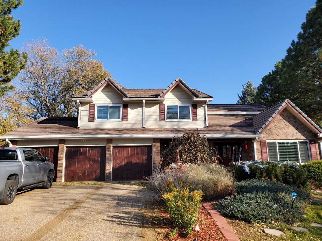 Englewood, CO - We are bidding a roof repair with some soffit and fascia repairs on this home in Englewood