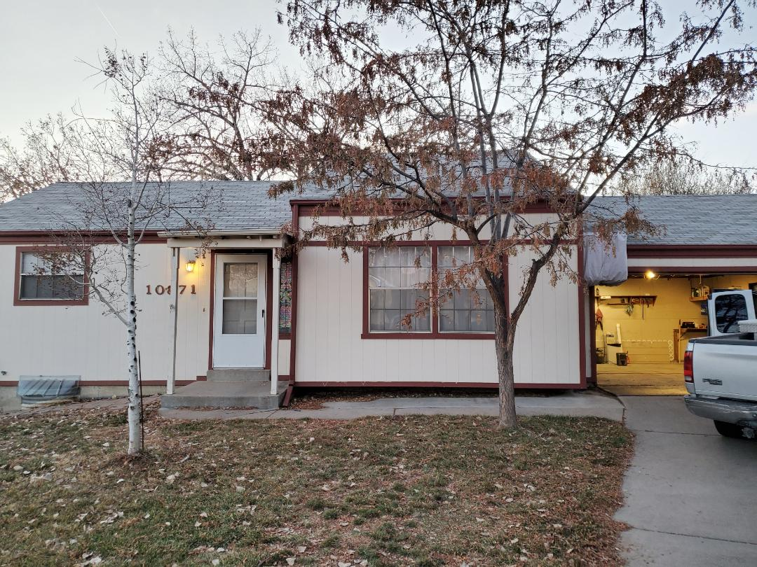 Thornton, CO - We are bidding a full reroof on this home in Thornton that was damaged in the hailstorm this summer.