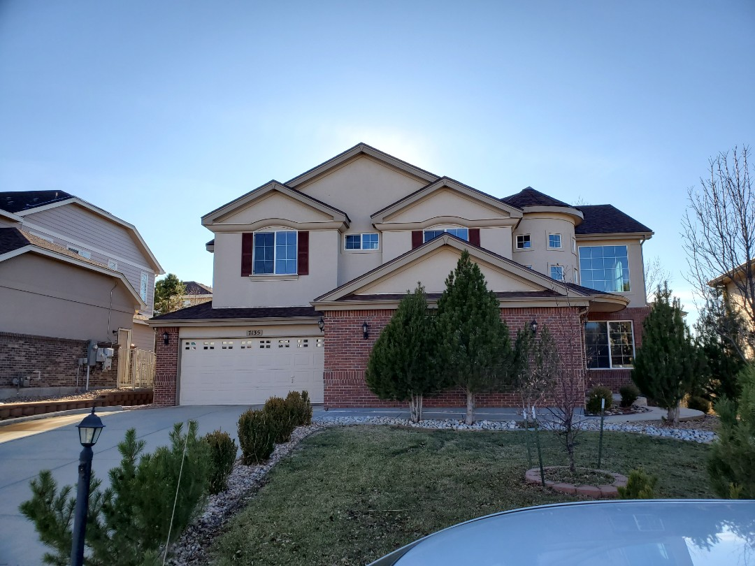 Parker, CO - We did a roof repair at this house in Aurora. The homeowner had the shingles on-site so I was able to do the roof repair on the spot.